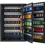 Pavo 8047239 - Caja para llaves de alta seguridad (capacidad para hasta 300 unidades) gris