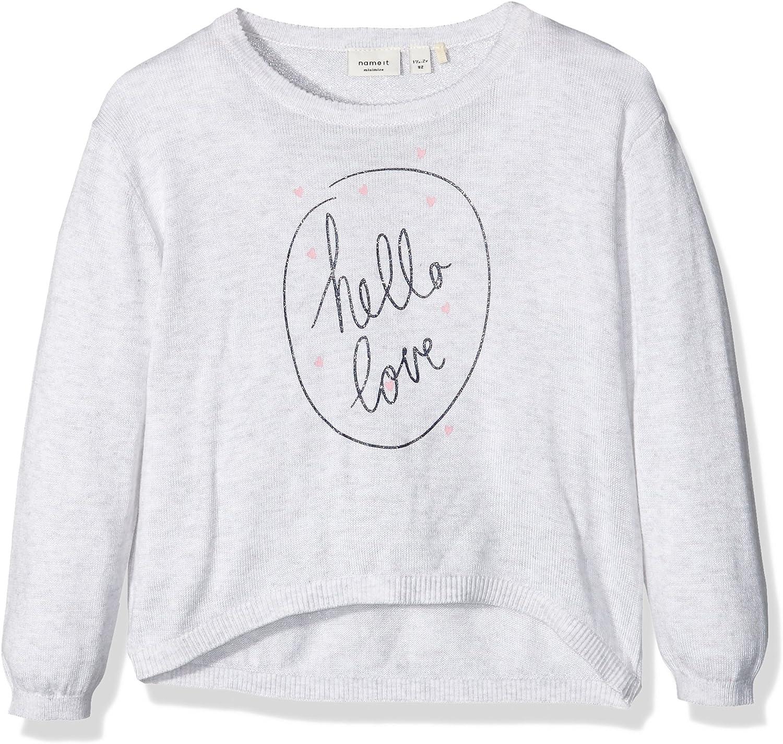 NAME IT M/ädchen Nitbatta Ls Oversize Knit Mz Ger Pullover