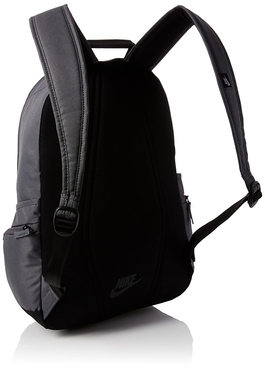 Nike Polyester 26 Ltr Grey Laptop Backpack  Amazon.in  Bags a536df1f46ef1