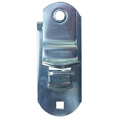 "JQuad Trailer Door & Ramp Locking Hasp -4"" Mounting- Cam Lock Latch Keeper -Zinc-: Automotive"