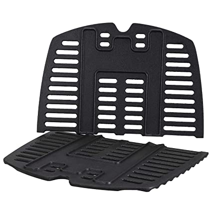 Amazon.com : QuliMetal 7644 Cooking Grates for Weber Q100 ...