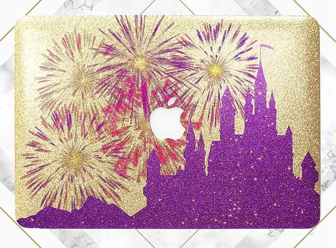 Amazon com: Purple Magic Castle Gold Rose Gold Hard Plastic