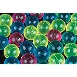 27mm Glitter Bouncy Balls 1 Gross (144 balls)