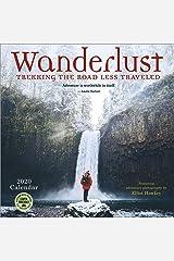 Wanderlust 2020 Calendar: Trekking the Road Less Traveled - Featuring Adventure Photography by Elliot Hawkey Calendar
