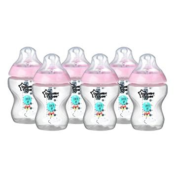 Amazon Tommee Tippee Closer To Nature 40 Ml40fl Oz Decorated Custom Decorated Baby Bottles