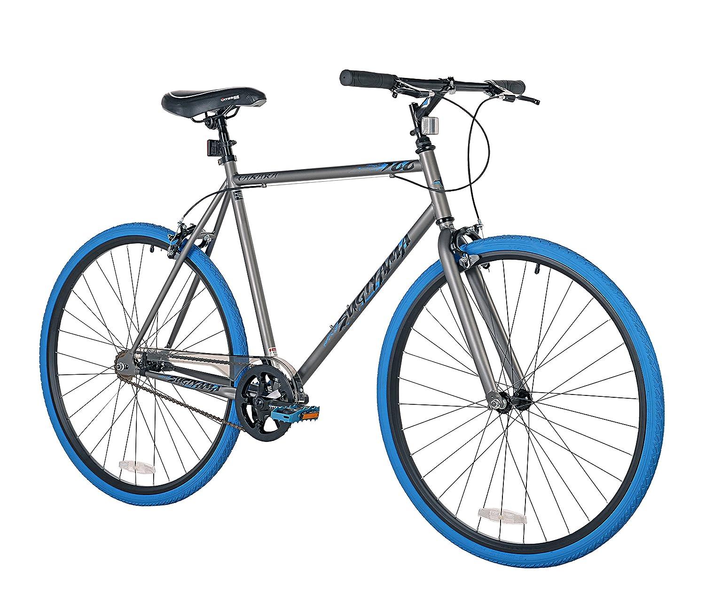 Takara Sugiyama Soporte de Bicicleta Fixie Bar, Unisex, Azul/Gris: Amazon.es: Deportes y aire libre