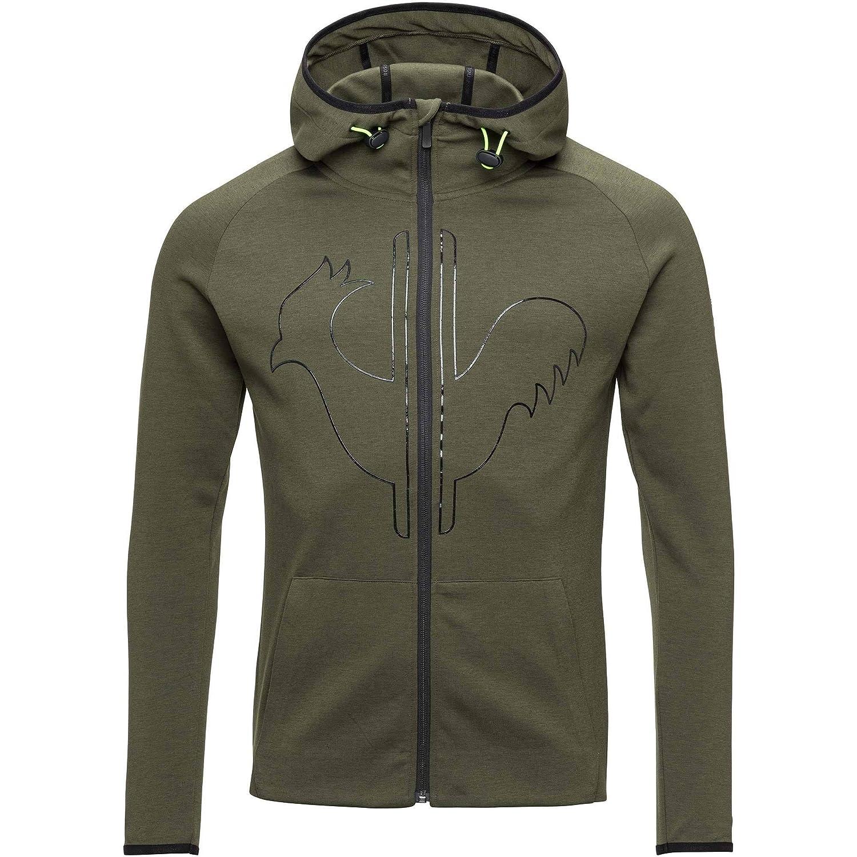 Rossignol Lifetech Zipped Hoody Pullover (Military-Grün)