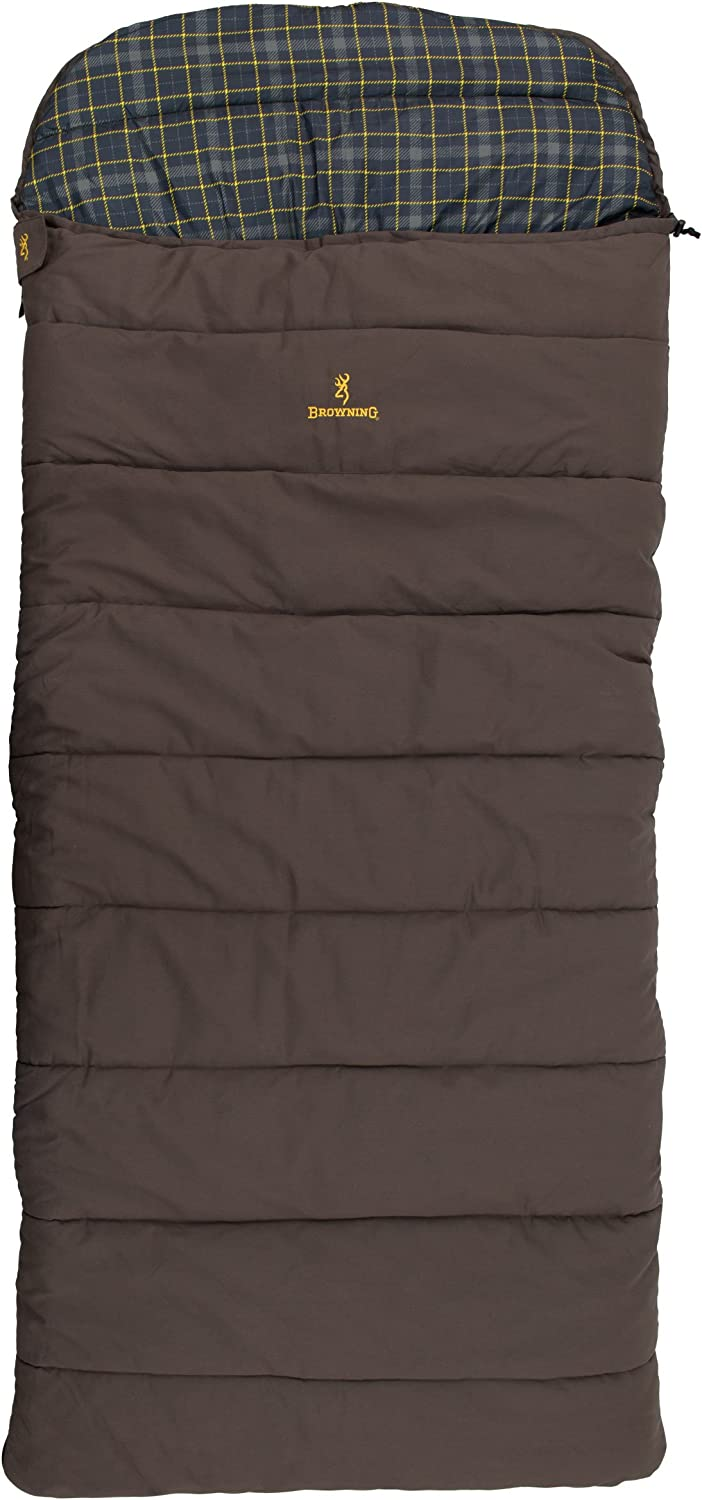 Browning Camping Klondike -30 Degree Flannel Sleeping Bag