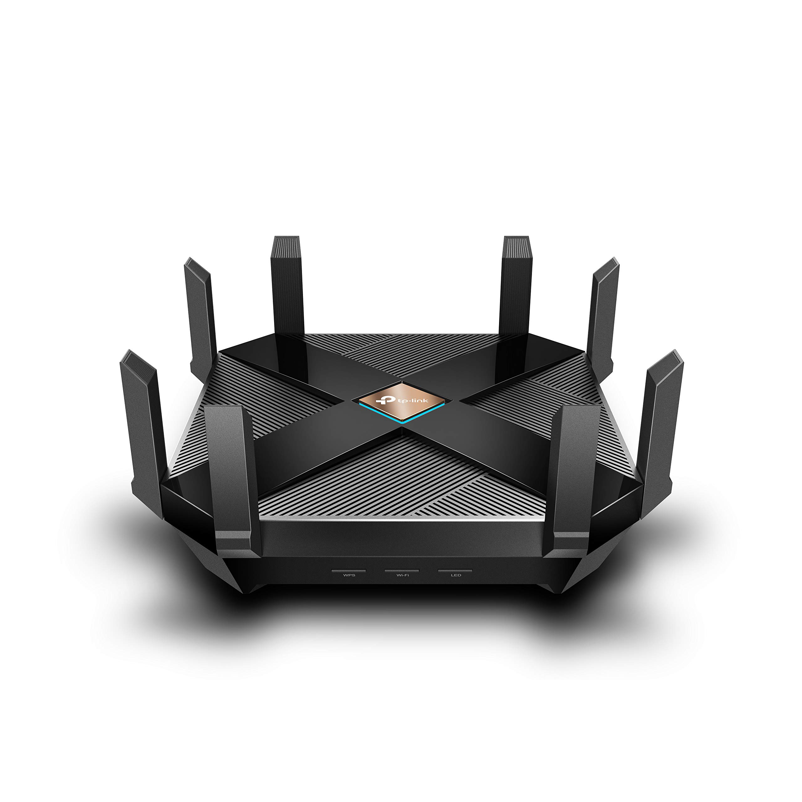 TP-Link WiFi 6 AX6000 8-Stream Smart WiFi Router - Next-Gen 802.11ax, 2.5G WAN Port, 8 Gigabit LAN Ports, MU-MIMO, 1.8GHz Quad-Core CPU, USB 3.0 Ports, Homecare Support(Archer AX6000) by TP-LINK