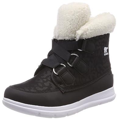 2eee6d2433e SOREL Womens Explorer Carnival Nylon Fleece Winter Waterproof Ankle Boot