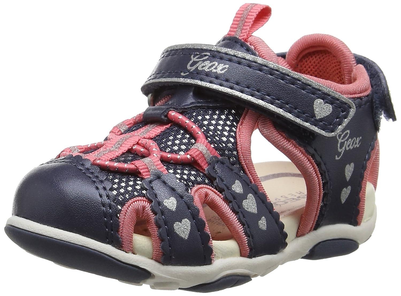 Geox B Sandal Agasim Girl C, Chaussures Bébé Marche Fille B720ZC0AJ15