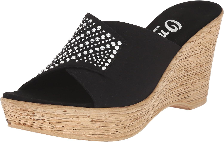 Onex Womens Kaelyn Wedge Sandal