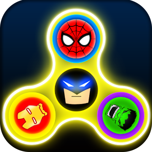 Super Hero Fidget Spinner - Avenger Fidget Spinner Games (Super Hero Themes)