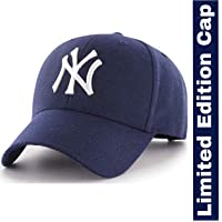 MoohMaya™ Super Quality Blue NY Baseball Caps for Men & Women