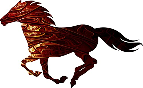 Mystery Running Horse - the best wall sculpture for the money