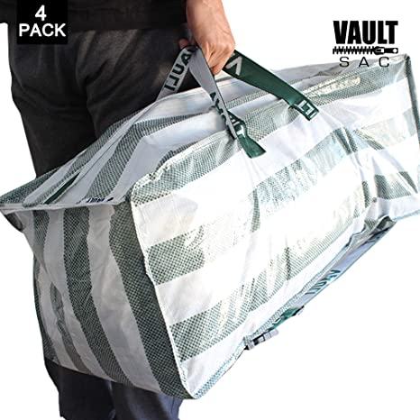 Storage Bags - 4 PACK - Space Saver Bags | Garment, Clothes, Duvet Storage Bags | Plastic Bag Storage | Storage Bins | Storage Containers | Great ...