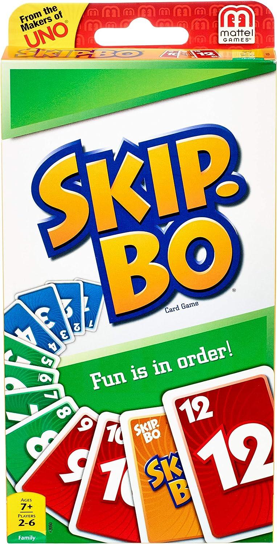 SKIP BO Card Game: International Games: Toys & Games