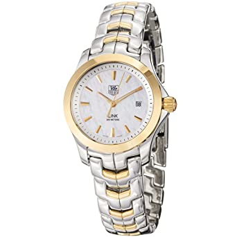 2381fecea10 Image Unavailable. Image not available for. Color  TAG Heuer Women s  WJF1352.BB0581 Two-Tone Link Quartz Watch