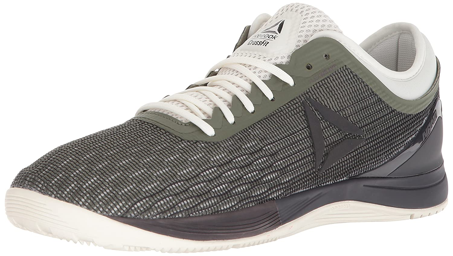 Reebok Men's Crossfit Nano 8.0 Flexweave B076HSGKS4 7 D(M) US|Hunter Green/Coal/Chalk