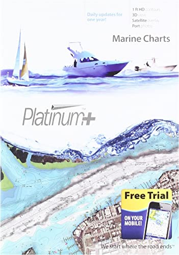 Navionics Platinum SD 651 Central Gulf of Mexico Nautical Chart on SD Micro-SD Card – MSD 651P