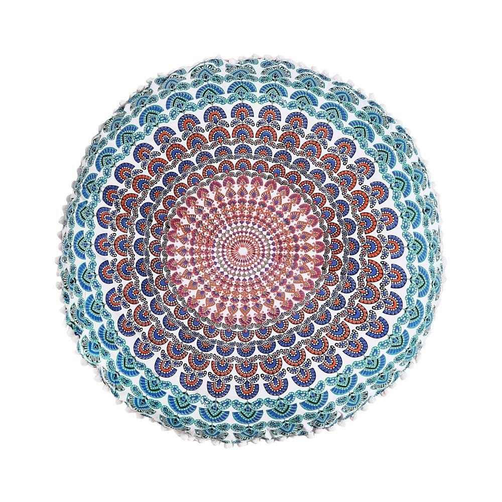 Amazon.com: Mandala Indio Almohada de piso cojín de ...