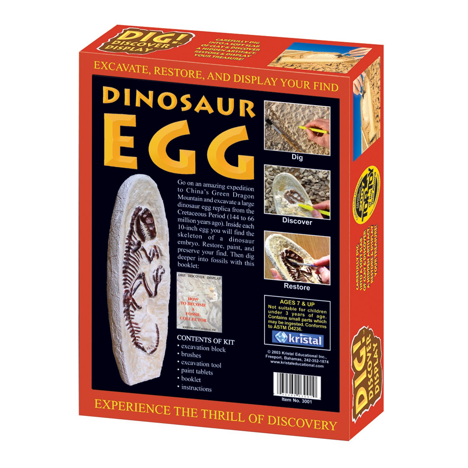 Amazon Dig Discover Dinosaur Egg Toys & Games