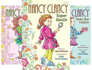 Nancy Clancy Chapter Books series (Serie de 8 libros ...