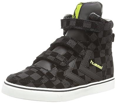 quality design 74bfa 8a939 Hummel Unisex-Kinder Stadil Check Jr Hi Knöchelhohe Sneaker