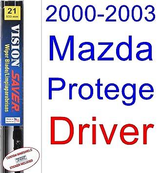 2000 - 2003 Mazda Protege de repuesto para limpiaparabrisas Set/Kit (Saver Automotive products-vision Saver) (2001,2002): Amazon.es: Coche y moto