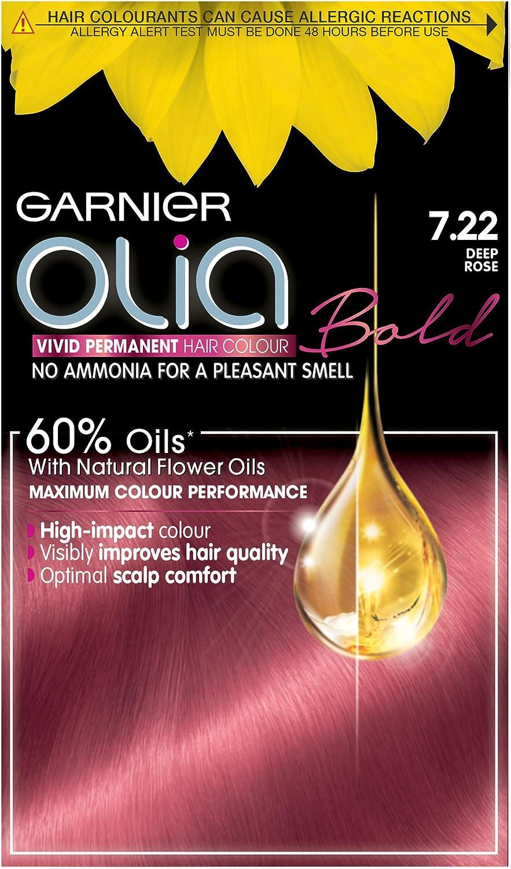 Garnier Olia Bold 7.22 de profundidad rosa permanente tinte de pelo, 1 unidad