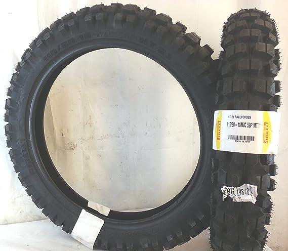 1 Reifen 110 80 18 58p Pirelli Mt21 Enduro Artikelnummer 341500 Auto