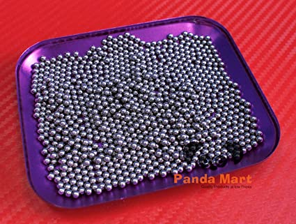 12mm Loose Bearing Ball SS201 Stainless Steel Bearings Balls G100 QTY 10