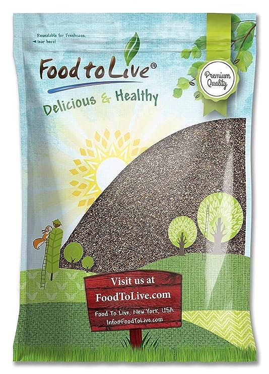 Food to Live Semillas de chía.: Amazon.com: Grocery ...