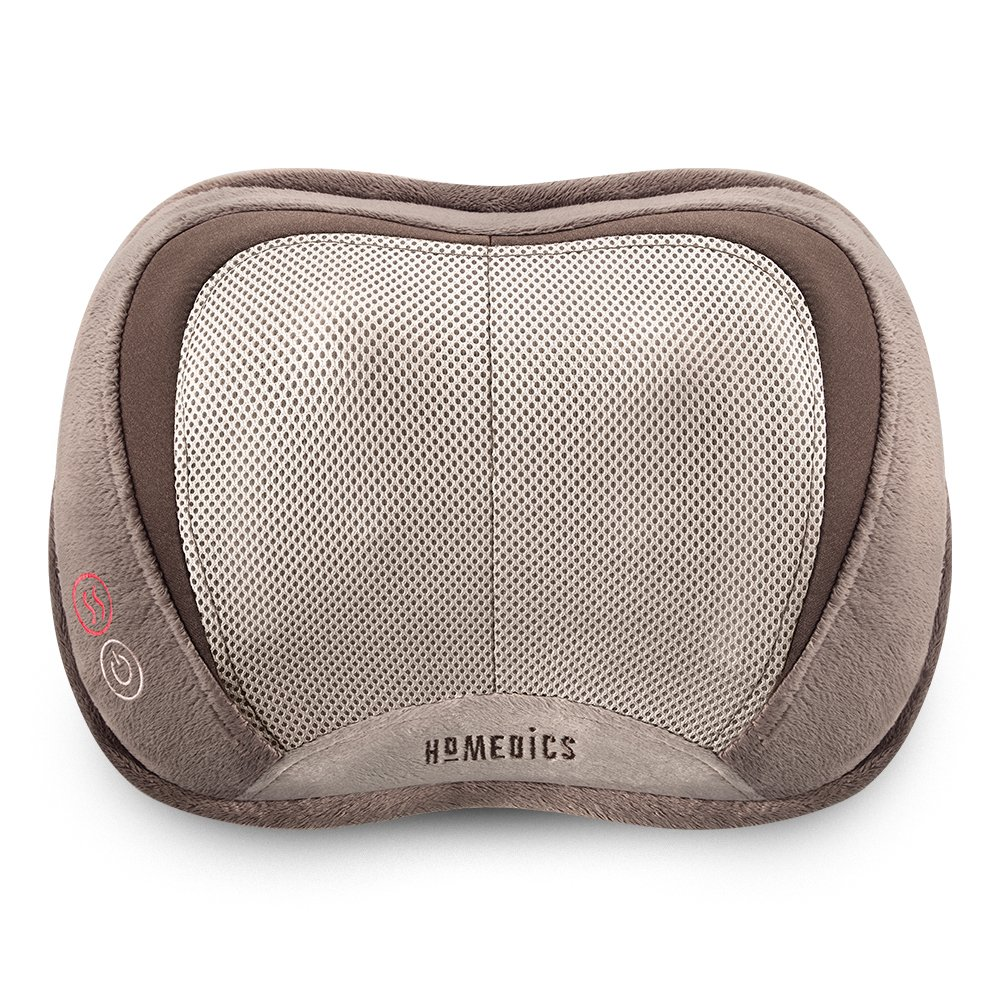Homedics 3D Shiatsu & Vibration Massage Pillow with Heat by HoMedics