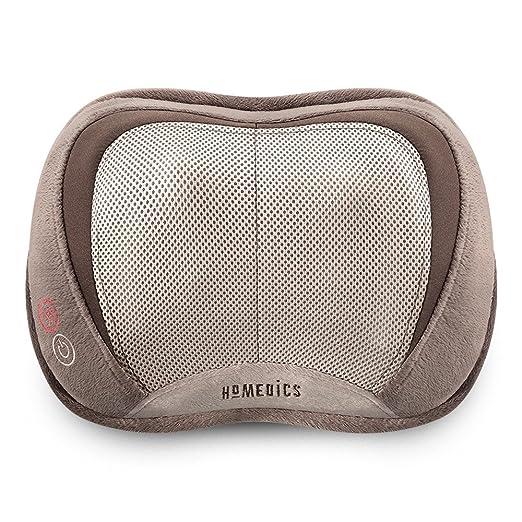 Best Back Massagers.Homedics 3D Shiatsu & Vibration Massage Pillow with Heat