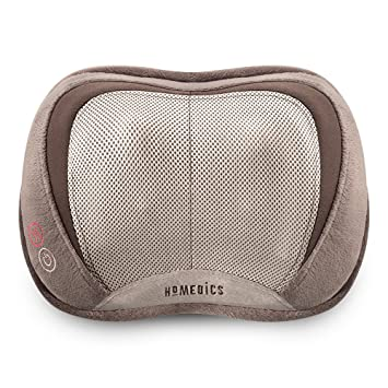0f9923c40 Amazon.com: Homedics 3D Shiatsu & Vibration Massage Pillow with Heat ...
