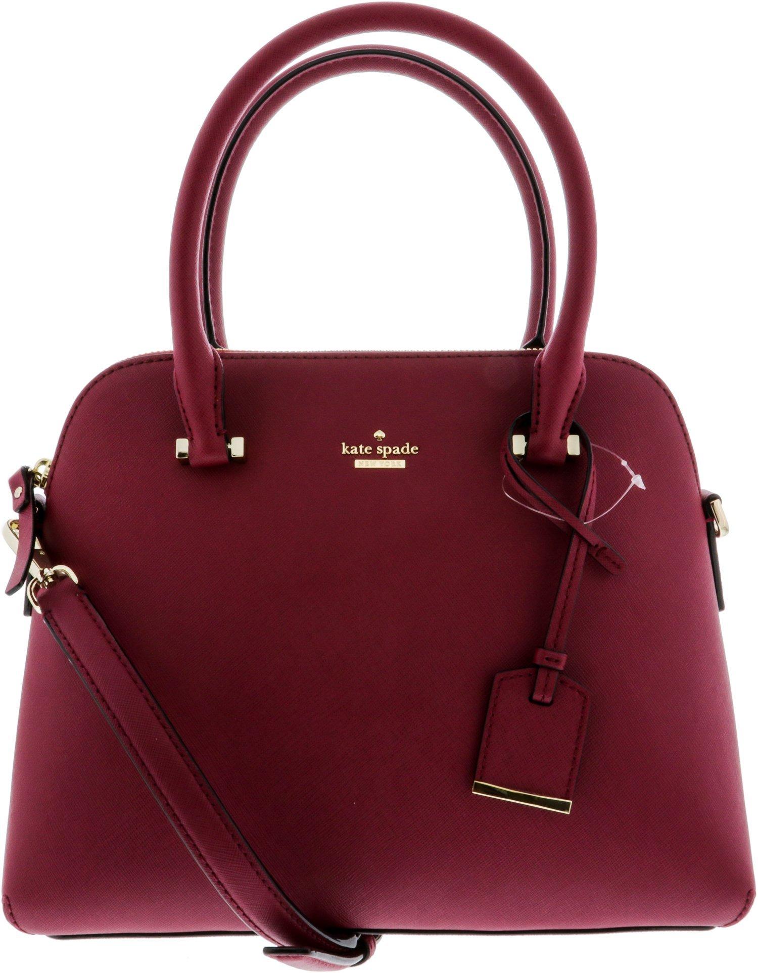 Kate Spade Women's Cameron Street Maise Satchel Leather Top-Handle Bag - Tempranill