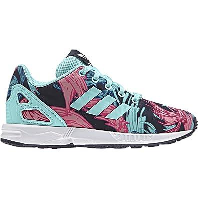 Adidas Zx Flux C Rosa Bambina Scarpe Sportive Sneakers