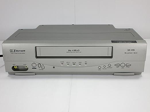 Emerson ewv404 4-Head vídeo grabadora de casete con visualización ...