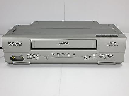 amazon com emerson ewv404 4 head video cassette recorder with on rh amazon com Emerson VCR 4 Head emerson video cassette recorder dvd player manual