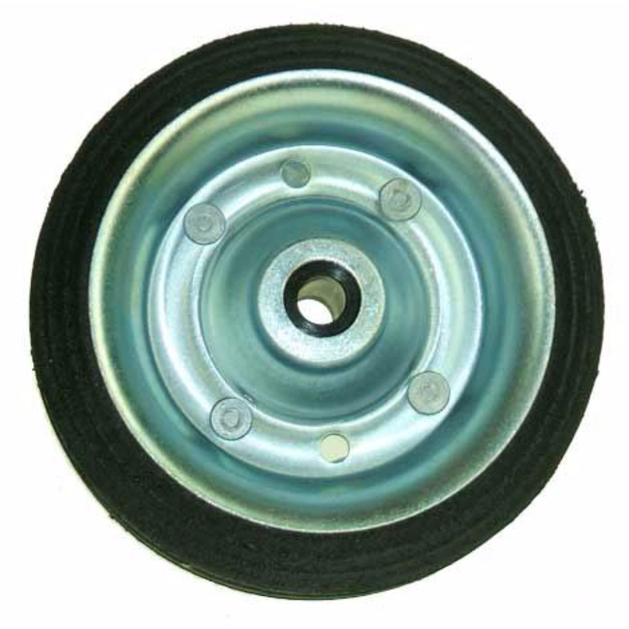 Spare Jockey Wheel (One Size) (Silver/Black)
