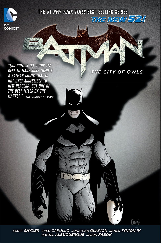Amazon: Batman Vol 2: The City Of Owls (the New 52) (8601420585614):  Scott Snyder, Greg Capullo, Rafael Albuquerque: Books