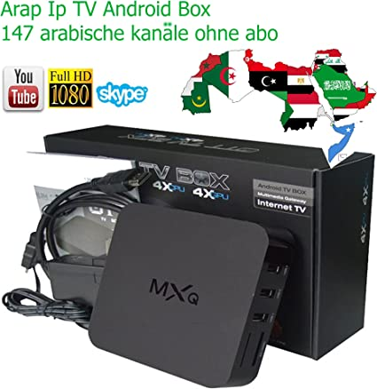 Arab IP TV Setup Box cs918g Plus H.265 Kodi Android 4.4 Amlogic S805 Quad Core
