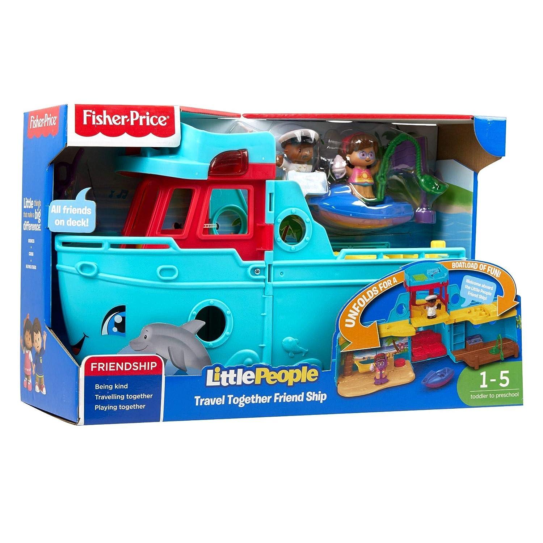 Fisher-Price FXJ44 Travel Together Friend Ship Spielzeug Mehrfarbig