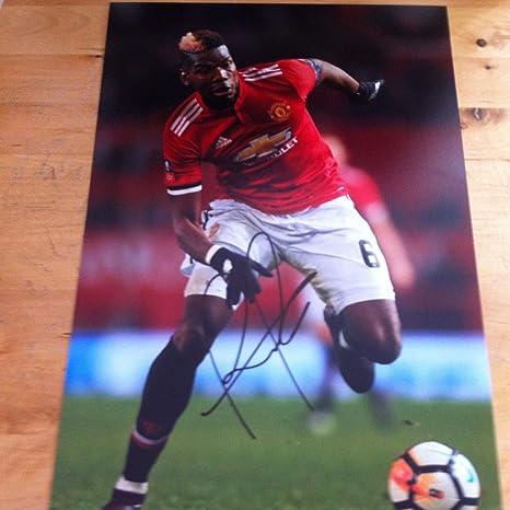 Free Frame! Genuine Autograph DAVID DE GEA Signed 6 X 4 Inch Soccer Photograph COA