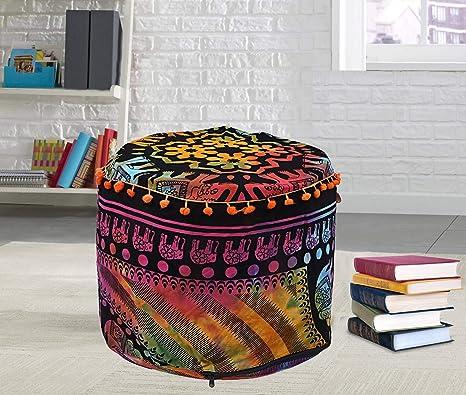 Amazon.com: Charoli Enterprises Mandala Multi Tie Dye ...