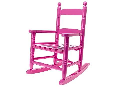 Sedie A Dondolo Bambini : Present time jip classica sedia a dondolo per bambini in legno rosa