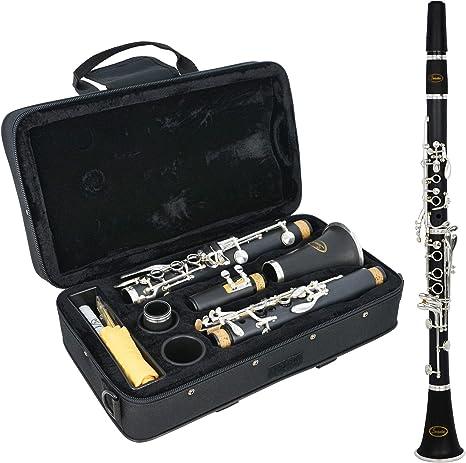 Sonata B1S Clarinete en Sib, Bb, Estuche Acolchado, Grasa de Corcho, Negro: Amazon.es: Instrumentos musicales