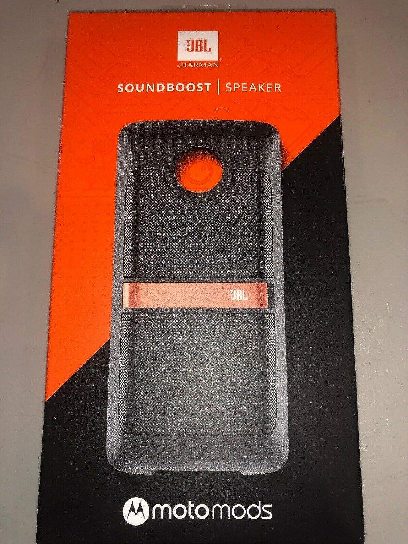 JBL SoundBoost Moto Mod Speaker moto Z, Black