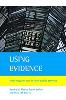 Using Evidence How Research Can Inform Public Services